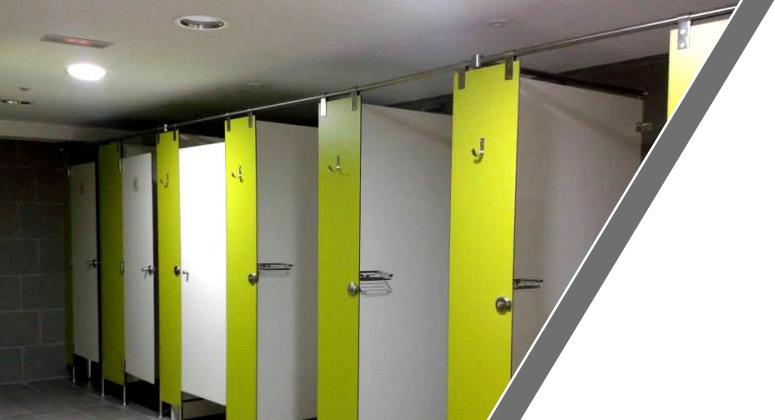Manufacturas Marpe fabrica y suministra cabinas sanitarias de material fenólico