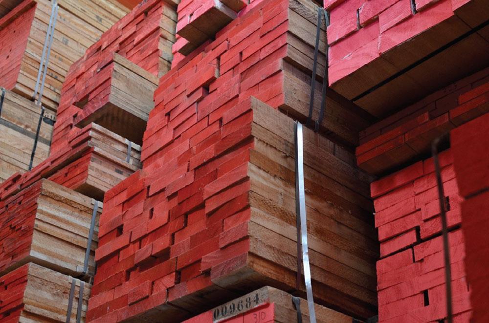 Almacén de maderas Manufacturas Marpe, suministramos madera en bruto y ofrecemos servicios de corte y canteado