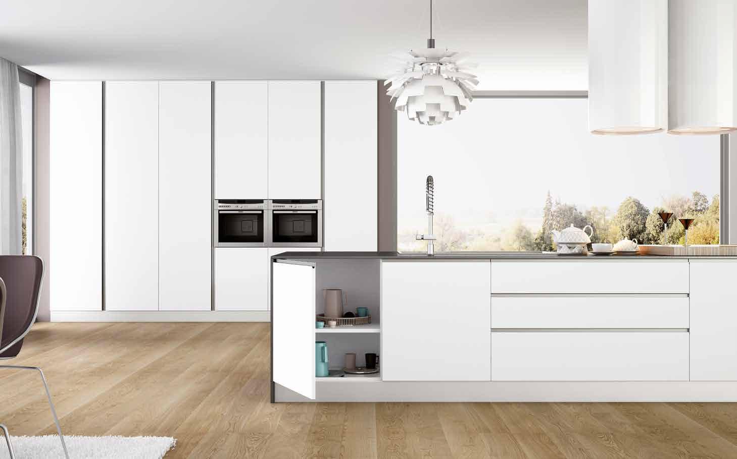 Puertas suelos y complementos para cocinas manufacturas for Complementos para cocinas